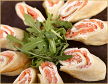 Salmon Roll-Up Snacks