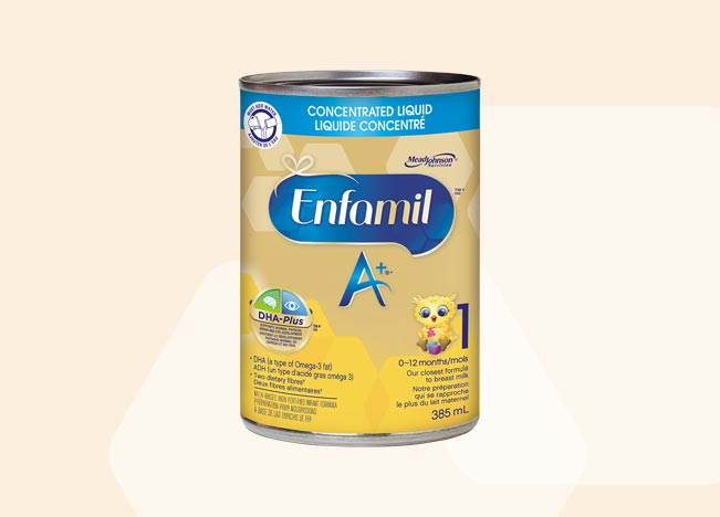 Enfamil A+ Concentrated Liquid 385ml (12 pack)