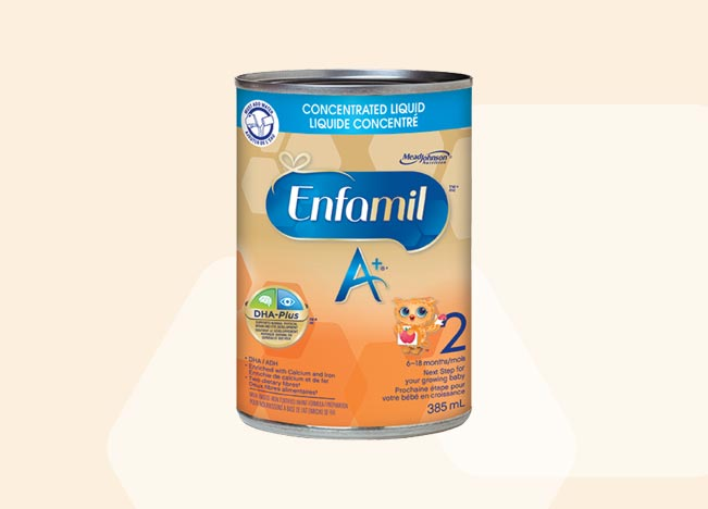 Enfamil A+ 2 Concentrated liquid 385ml (12 pack)