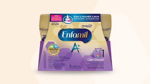 Enfamil A+ Gentlease Ready to Feed  237ml (6 pack)