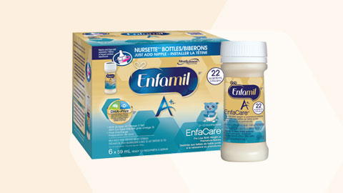 Enfamil A+® EnfaCare® Ready To Feed Bottles