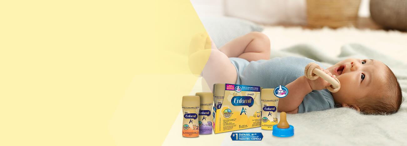 Enfamil A+® Ready, Set, GO Contest