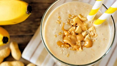 Folate - Nutty Banana Smoothie