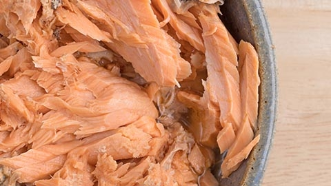 DHA (an Omega-3 fat) - Salmon Roll-Up Snacks