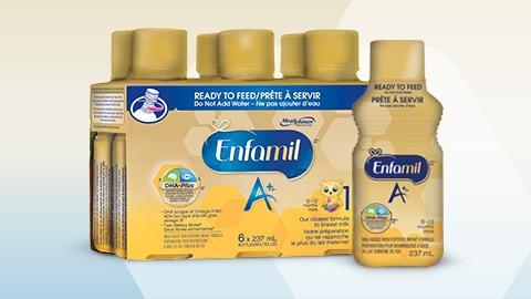 Enfamil A+ Ready to Feed Resealable Bottles