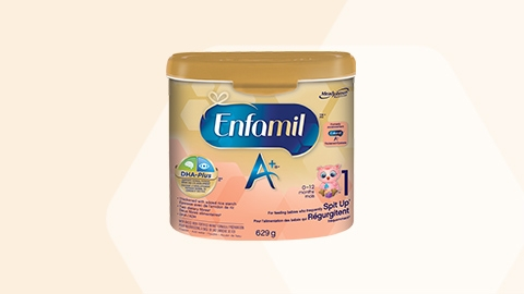 Enfamil A+ for frequent Spit Up