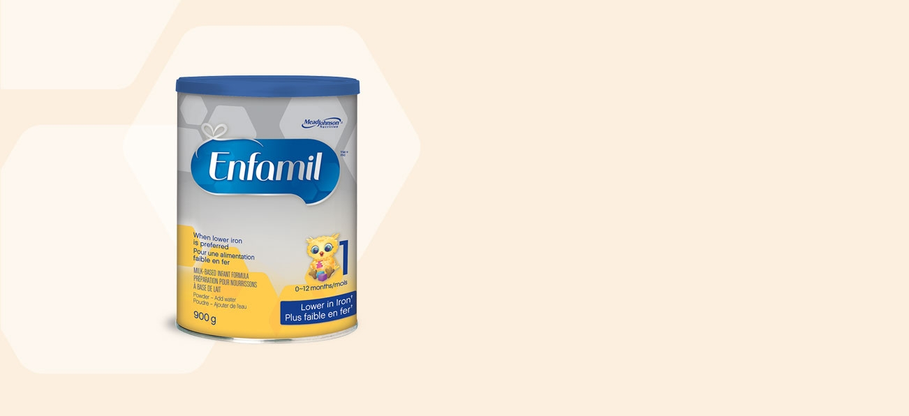 Enfamil Lower Iron Baby Formula